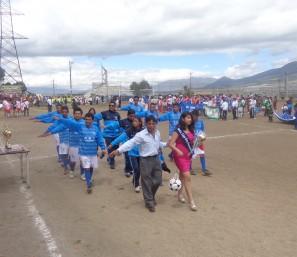 La participación de la provincia en la inauguración.