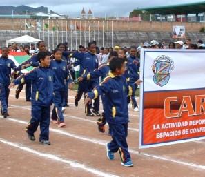 Las selecciones de Carchi se alistan para los Juegos Nacionales.