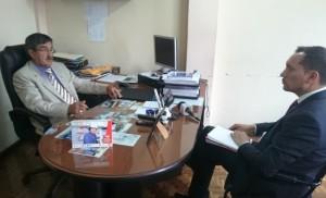 Jorge Loaiza entrevistó al titular de Fedenaligas.