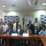 Reunion de Fedenaligas y sus Filiales Provinciales con la Srta: Ministra del Deporte