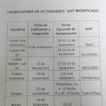 cronograma 2017